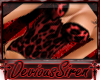 'DS Red Leopard Bustier