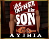 """a"""" FatherLikeSon T Red"""