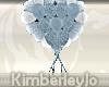 Blue Heart Balloons