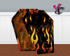 Flaming Casket