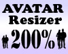 Avatar Resizer 200%