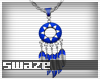 Takeo Blue Necklace