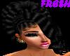 FB}Alessandra Black Wig
