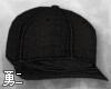 Y' Black Snapback Cap