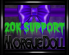 MD 20k Support Sticker