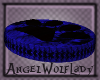 [A] Dark Blue Pet Bed