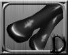 [D] KneeHigh Black Latex