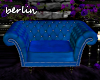 [B] Blue Tufted Chair
