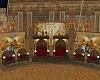 egyptian pharo throne