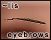 Eyebrows: bark