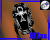 Blu~ PVC.Coffin GothCros