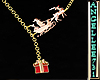 CHRISTMAS NECKLACE-SLED