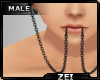 !Z! Snk-Bts Lip Chain