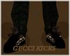 [1K]black gucci kickz