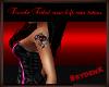 (F) Tribal rose tat (LA)