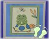 Boy Nursery Frog Pic 1