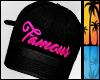 C| Famous Pink Snapback