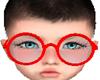 Kids Oculos Vermelho