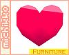 *M 3D Heart Furniture