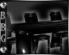 BBG* pvc dining table