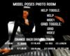 MODEL PHOTO ROOM