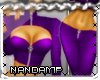 [NMP]LeatherQueen*purple