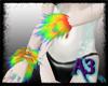 {A3}Rainbow Wristfluff