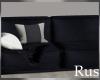Rus Navy Sofa