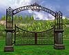 Halloween Cemetery Gates