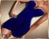 Slim! blue dress