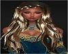 BLk Gold Princess Hair