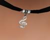 ( K ) Choker treble clef