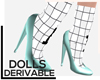 .-Dolls/sock with heel