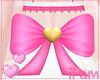 p. pink valentine bow