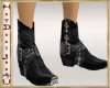 ~H~Western Fit1 Boots BK