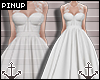 ⚓ | Floral Bride White