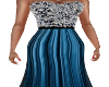 Blue Glamor Gown