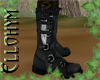 ~E- Drow Boot w/Knife