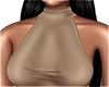 Neck Top -Beige