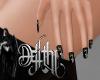 divina nails black