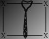 .X. Santa Baby Tie Black