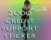 2000 Credit Support