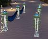 B Marble Wedding Column