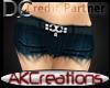 (AK)Blue cutoffs