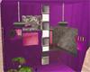 Purple space room