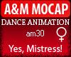A&M Dance *Yes, Mistress