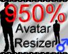 *M* Avatar Scaler 950%