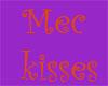 Mec's blow kisses