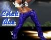 Cobalt Blu Leather Pants