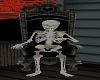 No Pose Skelly Throne